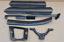 REAL CARBON BMW e46 1998-2006 4 door saloon carbon fiber Interior Trim Kit (9x)