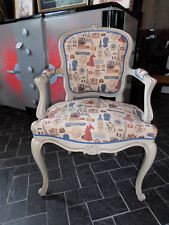 FAUTEUIL - CABRIOLET Style Louis XV