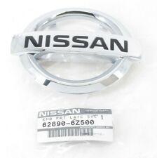 Genuine Nissan 62890-6Z500 Front Chrome Grille Emblem 02-12 Sentra 06-08 Maxima