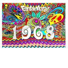 DigitalOase Einladungskarten 1968 51. Geburtstag Geburtstagskarten Umschlag #045