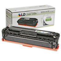 LD Remanufactured Replacement for HP 128A / CE320A Black Toner Cartridge