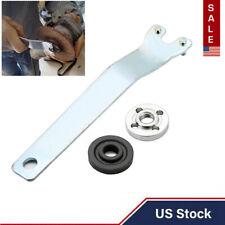 Angle Grinder Flange Spanner Wrench For Dewalt Milwaukee Makita w/Lock Nut Metal