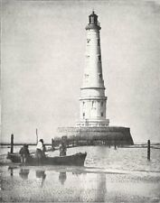GIRONDE. Phare de Cordouan 1900 old antique vintage print picture