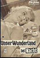"""IFB Illustrierte Film Bühne Nr. 4895 """" Unser Wunderland bei Nacht """""""