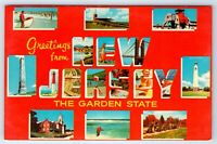 Vintage Postcard Greetings From New Jersey The Garden State NJ
