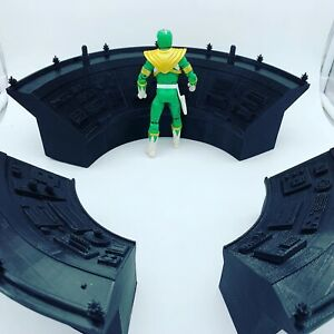 Command Centre Console Diorama Set For Power Rangers Lightning Scale Figures