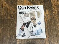 1954 Brooklyn Dodgers Yearbook - MLB Team Robinson/Reese/Snider