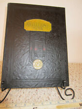 "VINTAGE ""MILLIKIN COLLEGE""  DECATER, ILLINOIS 1928 ""MILLDECK"" SCHOOL YEARBOOK"