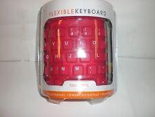 iCONCEPTS PINK WATERPROOF FLEXIBLE KEYBOARD