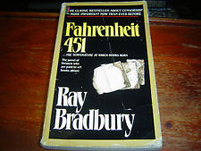 *FAIR-GOOD CONDITION* FAHRENHEIT 451 by Ray Bradbury (1995) SOFTCOVER WELL-BOUND