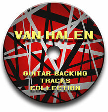 74 x VAN HALEN STYLE MP3 ROCK GUITAR BACKING TRACKS COLLECTION JAM TRACKS