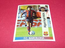 MIGUEL ANGEL NADAL FC BARCELONA PANINI LIGA 96-97 ESPANA 1996-1997 FOOTBALL