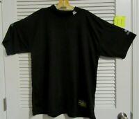 McDavid InteraWear  Mid Weight Men's Size L Black short Sleeve Referee Shirt