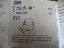 Cat 5 Telephone Wire 3M Scotchlok Connectors  UY2 Approx. 190