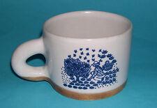 Poterier De La Colombe Art Pottery - Attractive French Earthenware Large Mug.