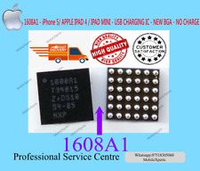 1608A1 -APPLE iPhone 5 - IPAD 4 / IPAD MINI - USB CHARGING IC -NEW BGA-NO CHARGE