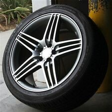 "Set4) 20"" 20x9.5 5X112 WHEELS TIRES MERCEDES BENZ AMG W164 W166 ML350 ML550 ML63"