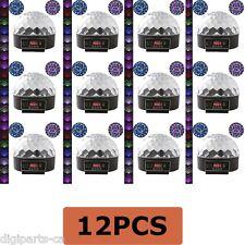 12PCS 12 Pack Digital LED RGB Crystal Magic Ball Effect Light DMX Disco Stage