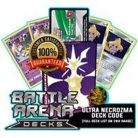 Pokemon TCGO Online Code - Battle Arena Deck - Ultra Necrozma GX Deck -