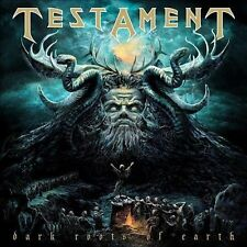 CD + DVD SET TESTAMENT DARK ROOTS OF EARTH + 4 BONUS TRACKS BRAND NEW SEALED