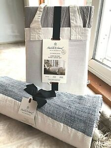 Hearth & Hand with Magnolia (F/Q) Duvet Cover Set & Cotton Throw - Free Shipping