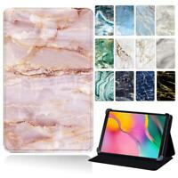 Marble Stand Leather Cover Case For Samsung Galaxy Tab A 8.0 9.7'' /A6 7.0 /10.1