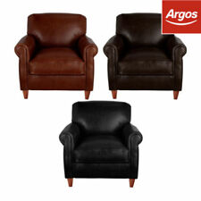 Argos Modern Leather Armchairs