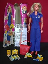 Bionic Woman Mission Purse Vintage 1977 Kenner Action Figure Doll