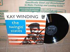 Kai Winding - The Swingin States LP RARE Dutch Import Philips NM Vinyl 1958 Jazz