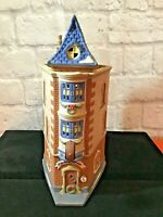 """Dept 56 Christmas In the City """"CITY CLOCKWORK"""" #5531-0 Retired 1996 Box/Light"""