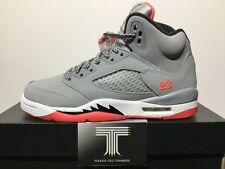 "Nike Air Jordan 5 Retro GG ""Wolf Grey"" ~ 440892 018 ~ Uk Size 3"