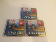 JVC Mini DVD-R 2.8 GB 60min Double Sided DVD-R for Camcorder / Handycam - 3 pack
