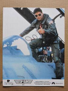 Tom Cruize as Maverick original Czech color photo 1991 Top Gun