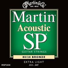 MARTIN MSP3000 - MUTA PER CHITARRA ACUSTICA EXTRA LIGHT .010 - .047