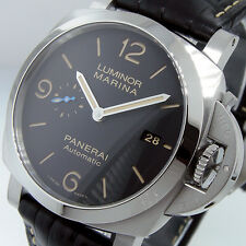 PANERAI PAM 1312 LUMINOR MARINA 1950 44 mm BLACK 3 DAYS ACCIAIO PAM 01312 STEEL