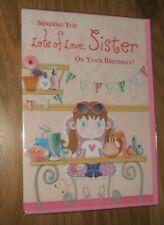 SISTER  HAPPY BIRTHDAY CARD
