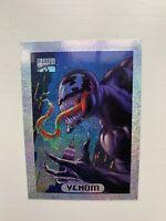1994 Fleer Marvel Masterpieces Limited Edition Holofoil Venom #9 Trading Card