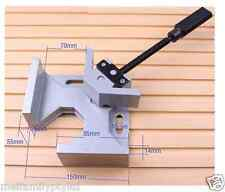 90°Corner Clamp,One Handle,Picture Frame Woodworking Welding Vice,Alloy Body