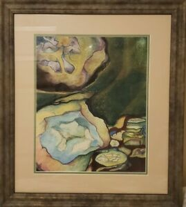 Virginia Bradley Pastel Painting Original