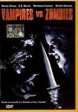 VAMPIRES VS ZOMBIES - DVD (USATO OTTIMO) ECOFINA