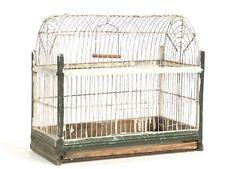 Vintage Antique Victorian Wood Bird Cage Rustic Decor