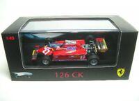 Ferrari 126 CK No. 27 G. Villeneuve Formel 1 1981