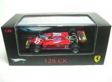 FERRARI 126 CK n. 27 G. Villeneuve Formula 1 1981