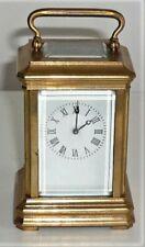 Miniatura Vintage Bronce Entubado Carro Reloj