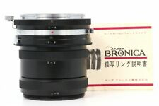 Bronica C-A B C D Set Close Up Ring Extension Tube Ring for S S2 S2A EC TL MINT-