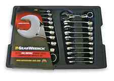 MASTER STUBBY WRENCH SET-METRIC & Standard (SAE) GearWrench KDT81903 Wrenches
