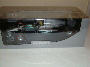 1:18 NICO ROSBERG MINICHAMPS MERCEDES 2013 MONACO GP WINNER