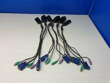 Altusen KA9520  PS/2 CPU Module Adapter Cable Lot of 6