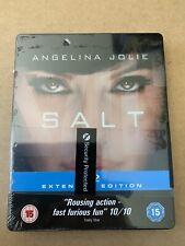 SALT Blu-Ray Steelbook NEW & SEALED Angelina Jolie Action