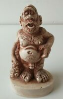 Vintage Cavema  Neanderthal Ornament Figurines  Vintage Novelty Resin Gift LT